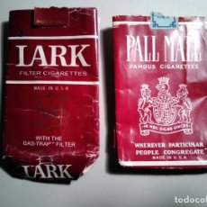 Paquetes de tabaco: PAQUETES TABACO: LARK Y PALL MALL. Lote 189511810