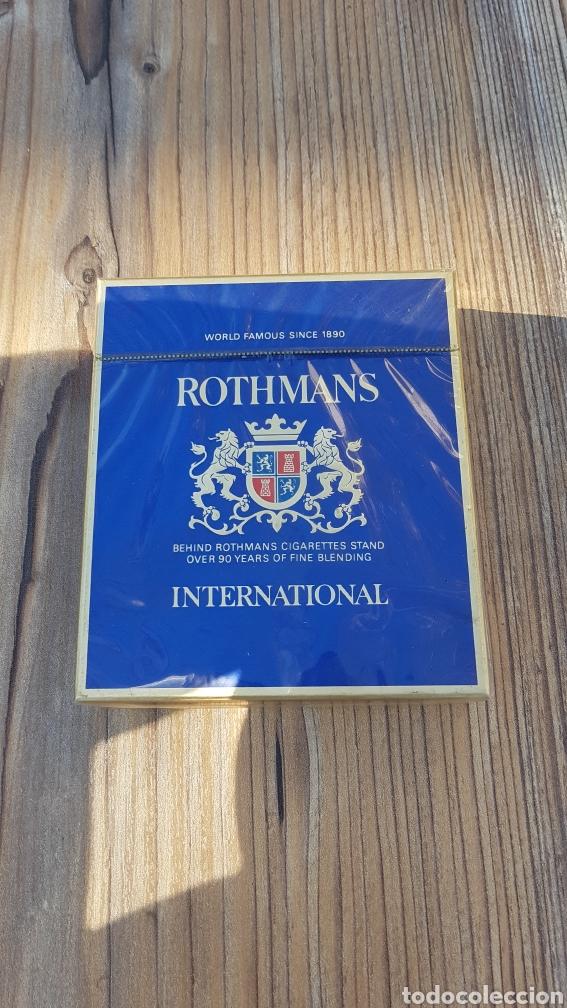 PAQUETE DE TABACO ROTHMANS (Coleccionismo - Objetos para Fumar - Paquetes de tabaco)