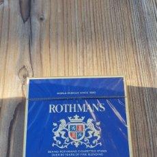 Paquetes de tabaco: PAQUETE DE TABACO ROTHMANS. Lote 221995251