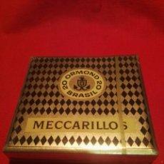 Paquetes de tabaco: PAQUTE DE CIGARROS ORMOND MECCARRILLOS BRASIL. Lote 190726540