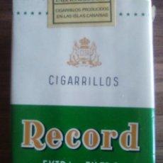 Paquets de cigarettes: RECORD PAQUETE DE TABACO PRECINTADO SIN ABRIR.. Lote 207785845