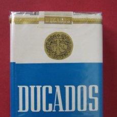Paquetes de tabaco: PAQUETE, CAJETILLA, TABACO, CIGARRILLOS - DUCADOS - AÑOS 70 - SIN ABRIR - CAJETILLA BLANDA.. L594. Lote 191058858