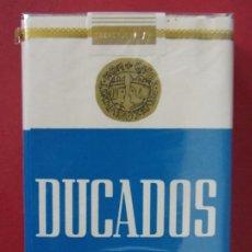 Paquetes de tabaco: PAQUETE, CAJETILLA, TABACO, CIGARRILLOS - DUCADOS - AÑOS 70 - SIN ABRIR - CAJETILLA BLANDA.. L595. Lote 191059070