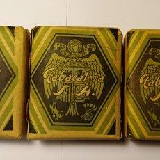 Paquetes de tabaco: LOTE 3 PAQUETE DE TABACO SIN ABRIR, TABACALERA PICADO FINO 25 GRAMOS, PERFECTO ESTADO.. Lote 191819527