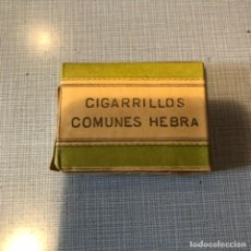 Paquetes de tabaco: ANTIGUO PAQUETE DE TABACO, COMPAÑIA ARRENDATARIA DE TABACOS, COMUNES HEBRA, SIN ABRIR.. Lote 192353242