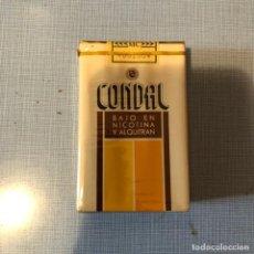Paquetes de tabaco: ANTIGUO PAQUETE DE TABACO CONDAL, SIN ABRIR.. Lote 192356120