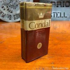 Paquetes de tabaco: ANTIGUO PAQUETE DE TABACO CIGARRILLOS, CONDAL IMPERIALES, SIN ABRIR.. Lote 192357576