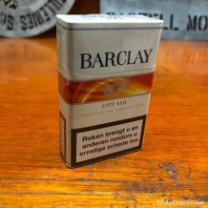 Paquetes de tabaco: PAQUETE DE TABACO DE COLECCION, BARCLAY CITY RED, SIN ABRIR.. Lote 192357853