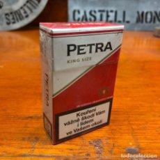 Paquetes de tabaco: PAQUETE DE TABACO DE COLECCION, PETRA, SIN ABRIR.. Lote 192358143