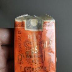 Paquetes de tabaco: ANTIGUO PAQUETE DE TABACO CIGARRILLOS * OVERSTOLZ * . Lote 193834416