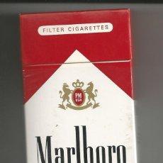 Paquetes de tabaco: PAQUETE TABACO *MARLBORO 100'S* EXTRA LARGO - U.S.A. (VACIO). Lote 112927915