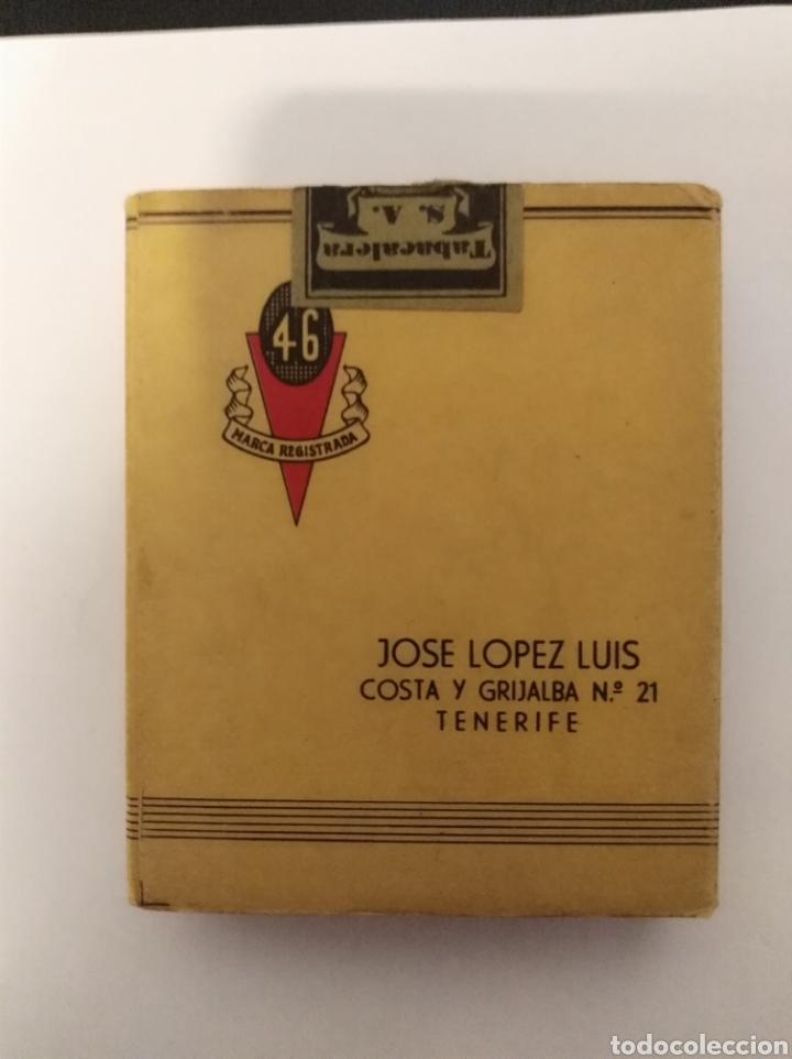 PAQUETE TABACO ANTIGUO, COMPLETO 46, JOSE LÓPEZ LUIS, TENERIFE, CANARIAS (Coleccionismo - Objetos para Fumar - Paquetes de tabaco)