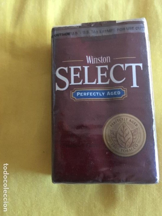 WINSTON SELECT. AMERICANO (Coleccionismo - Objetos para Fumar - Paquetes de tabaco)