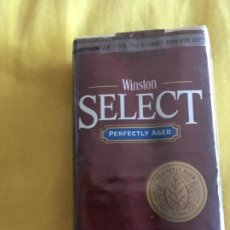 Paquetes de tabaco: WINSTON SELECT. AMERICANO. Lote 194189357