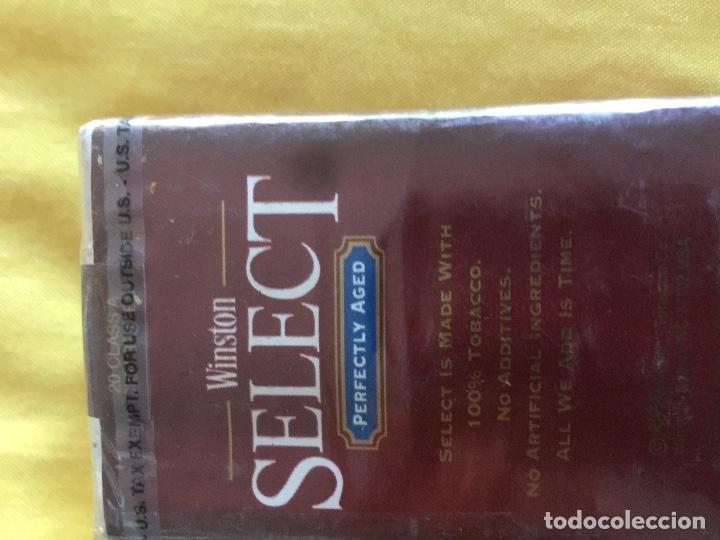 Paquetes de tabaco: WINSTON SELECT. AMERICANO - Foto 3 - 194189357