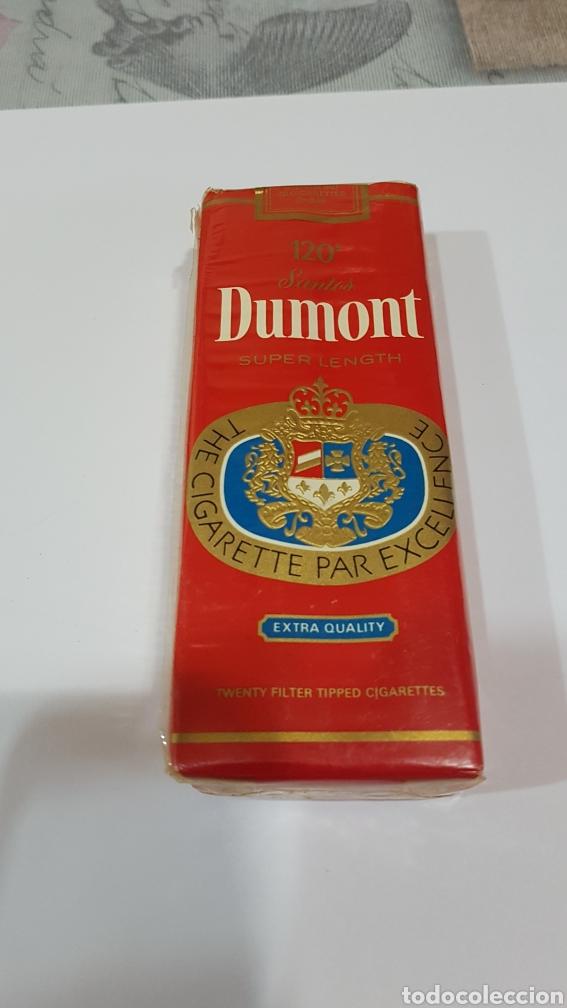 PAQUETE DE TABACO DUMONT PRECINTDO (Coleccionismo - Objetos para Fumar - Paquetes de tabaco)