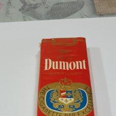Paquetes de tabaco: PAQUETE DE TABACO DUMONT PRECINTDO. Lote 194216616