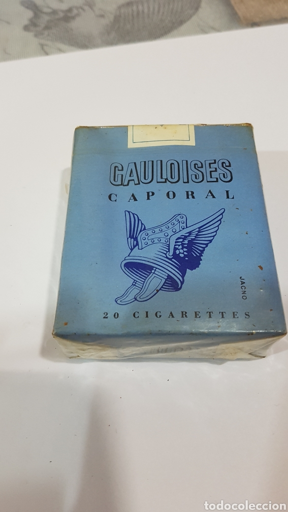 PAQUETE DE TABACO GAULOISES (Coleccionismo - Objetos para Fumar - Paquetes de tabaco)
