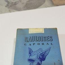 Paquetes de tabaco: PAQUETE DE TABACO GAULOISES. Lote 194217457