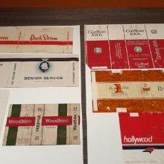 Paquetes de tabaco: INMENSO LOTE DE 373 PAQUETES DE TABACO ANTIGUOS MARCAS DE TODO TIOP VER FOTOS ( SALIDA1€). Lote 194339898