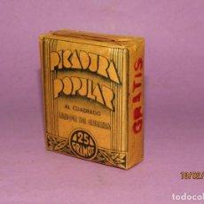 Paquetes de tabaco: ANTIGUO PAQUETE DE TABACO PICADURA POPULAR LABOR DE GUERRA EJERCITO REPUBLICANO DE MONOPOLIO TABACOS. Lote 194531843