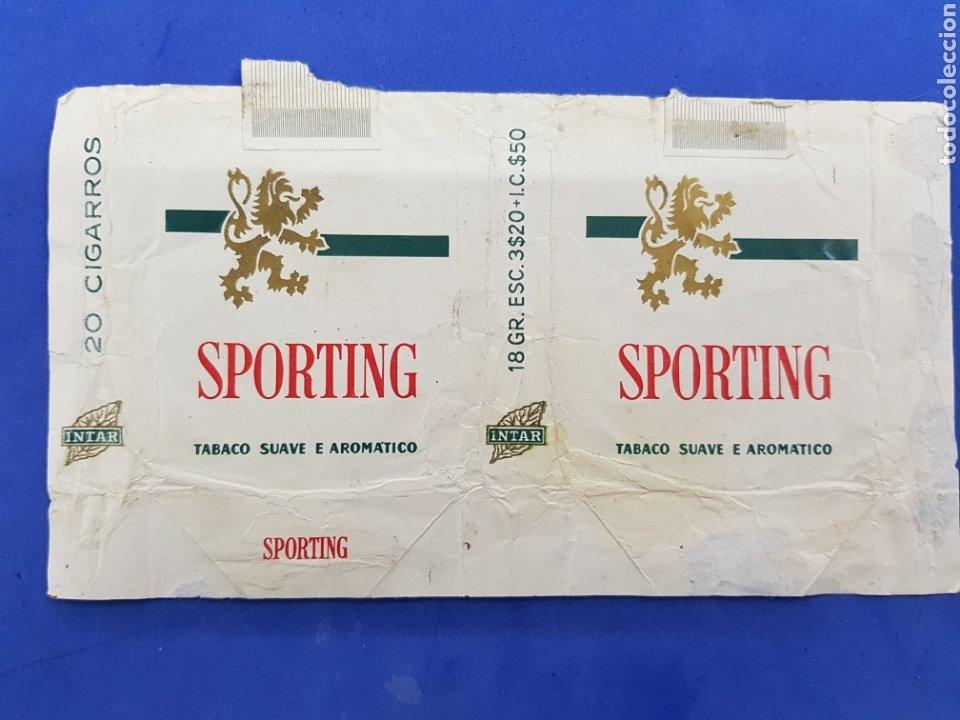 Paquetes de tabaco: Lote 8 envoltorios de Tabaco surtidos - Foto 4 - 194616211