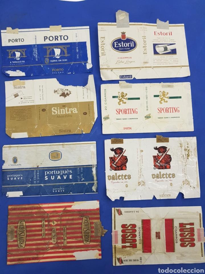 LOTE 8 ENVOLTORIOS DE TABACO SURTIDOS (Coleccionismo - Objetos para Fumar - Paquetes de tabaco)