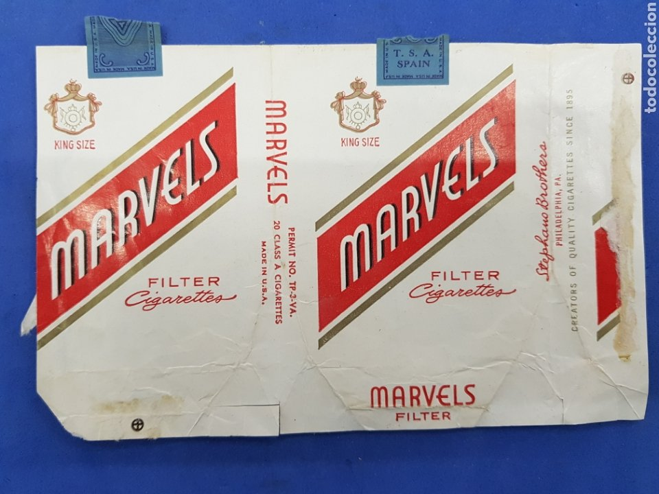 Paquetes de tabaco: Lote 6 envoltorios de Tabaco surtidos - Foto 5 - 194616902