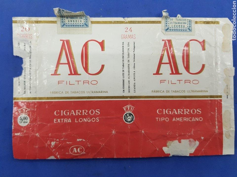 Paquetes de tabaco: Lote 6 envoltorios de Tabaco surtidos - Foto 6 - 194616902