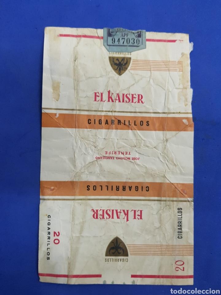 ENVOLTORIO DE TABACO, EL KAISER (Coleccionismo - Objetos para Fumar - Paquetes de tabaco)