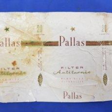 Paquetes de tabaco: ENVOLTORIO DE TABACO PALLAS. Lote 194620311