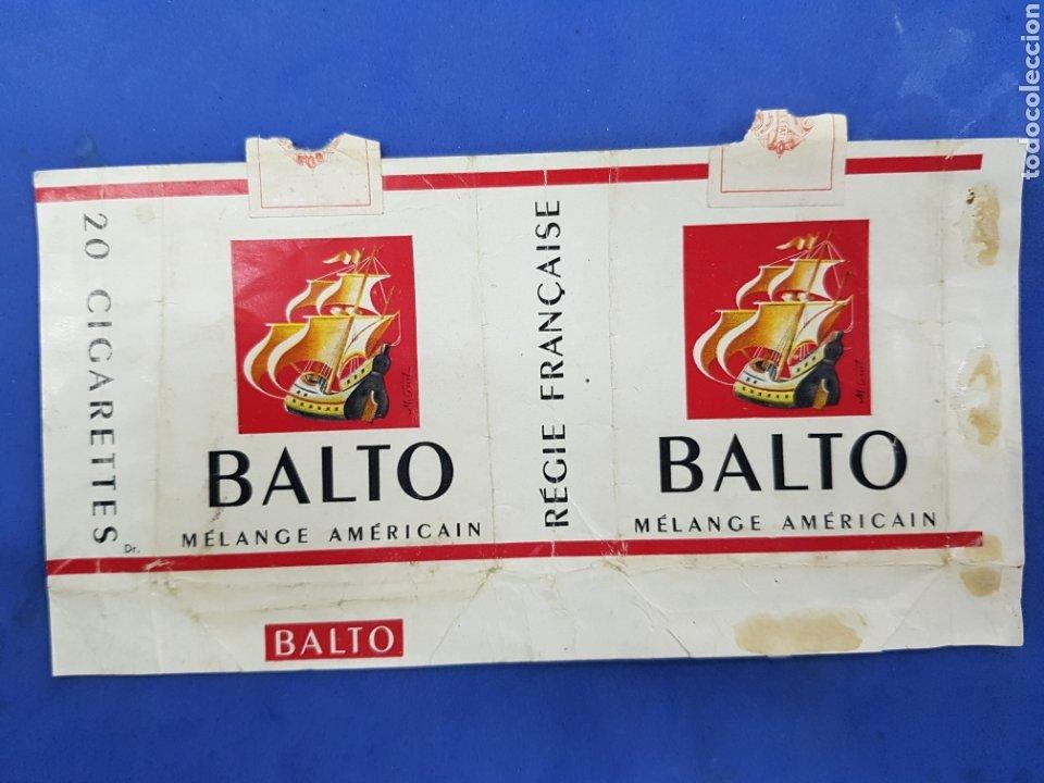 ENVOLTORIO DE TABACO BALTO (Coleccionismo - Objetos para Fumar - Paquetes de tabaco)
