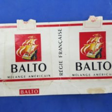 Paquetes de tabaco: ENVOLTORIO DE TABACO BALTO. Lote 194620940