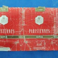 Paquetes de tabaco: ENVOLTORIO DE TABACO PARISIENNES. Lote 194621097