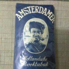 Paquetes de tabaco: PAQUETE DE PICADURA DE TABACO PARA PIPA AMSTERDAMER HOLLANDSCHE FIJNE SNEDE. Lote 194638160