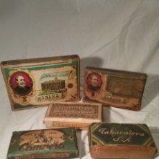 Paquetes de tabaco: LOTE DE 5 PAQUETES GRANDES DE PICADURA. Lote 194659503