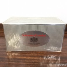Paquetes de tabaco: SOBRANIE OF LONDON - CARTRON DE TABACO PRECINTADO - 10 CAJETILLAS. Lote 194714210