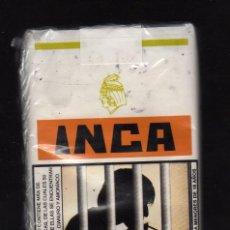Paquetes de tabaco: PAQUETE BLANDO PRECINTADO DE 20 CIGARRILLOS NEGROS CON FILTRO ''INCA'' · PERÚ (PESO: 20 GRAMOS). Lote 194955610