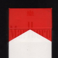 Paquetes de tabaco: CAJETILLA VACÍA DE MARLBORO - ARGELIA -. Lote 194957211