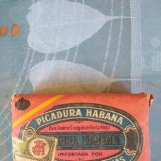 Paquetes de tabaco: MUY ANTIGUO PAQUETE DE PICADURA DE TABACO HABANA. Lote 194996766