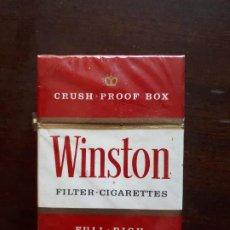 Paquetes de tabaco: CAJETILLA WINSTON USA - PRECINTADA - AÑOS 80. Lote 195017241