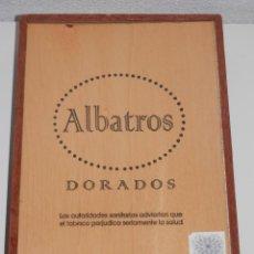 Paquetes de tabaco: CAJA DE MARCA DE LOS TABACOS ALBATROS. Lote 195039032