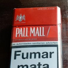 Paquetes de tabaco: PALL MALL. Lote 195185595