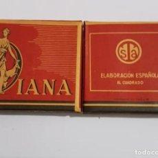 Paquetes de tabaco: PAQUETE NUEVO DE TABACO DIANA AÑOS 40. Lote 195187147