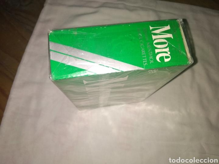 CARTON DE TABACO MORE (Coleccionismo - Objetos para Fumar - Paquetes de tabaco)