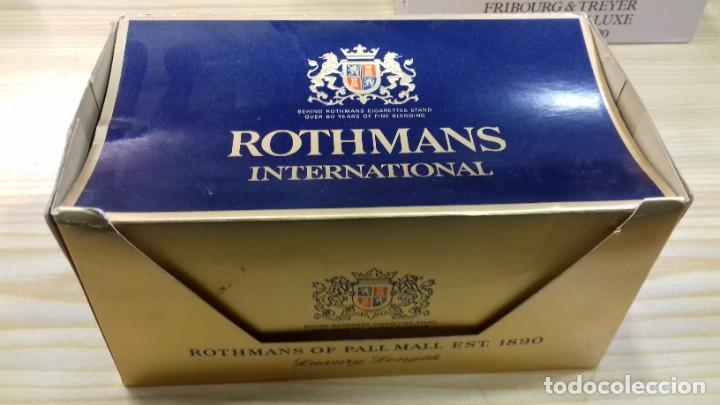 CARTÓN TABACO ROTHMAS INTERNATIONAL ABIERTO CON 8 CAJETILLAS PRECINTADAS (Coleccionismo - Objetos para Fumar - Paquetes de tabaco)