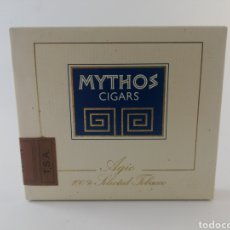Paquetes de tabaco: PAQUETE TABACO MYTHOS CIGARROS PRECINTADO LLENO.. Lote 195489597