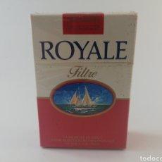 Paquetes de tabaco: PAQUETE DE TABACO ROYALE FILTRE ROJO CIGARRILLOS FRANCIA LLENO PRECINTADO.. Lote 195491745