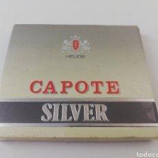 Paquetes de tabaco: PAQUETE DE TABACO CAPOTE SILVER CIGARROS ESPAÑA GRAN CANARIA LLENO.. Lote 195493810