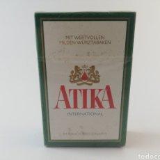 Paquetes de tabaco: PAQUETE DE TABACO ATIKA ALEMANIA CIGARRILLOS PRECINTADO LLENO.. Lote 195496157